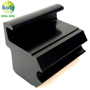 Black ABS POM Plastic CNC Milling Machining Parts with Custom Service