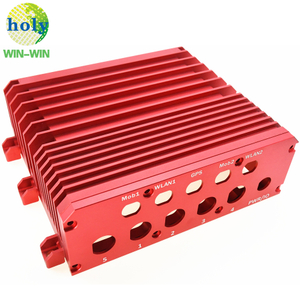 One-Stop Shop 4axis 6082 Aluminum CNC Machining Parts Router Housing