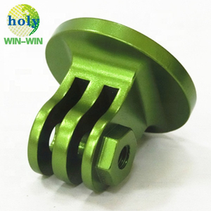 Custom Auto CNC Machining Small Metal Parts With Green Anodized